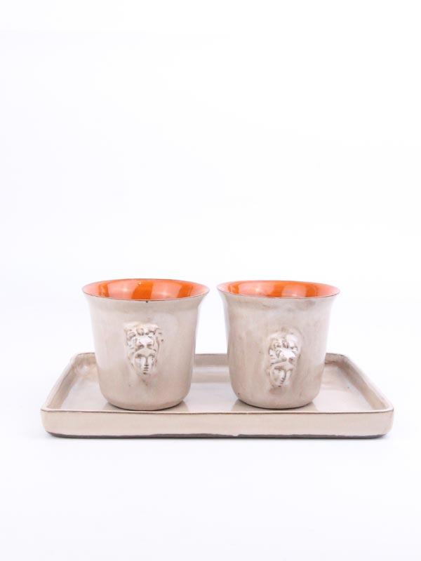 El Yapımı Espresso Fincan Seti